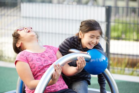 Fun times at newly renovated Boeddeker Park in San Francisco