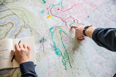 GIS mapping Chattanooga