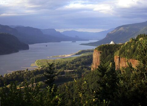 Vista House and the Columbia River Gorge